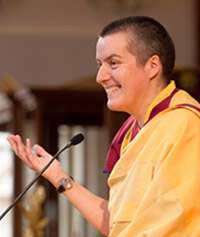 Photo of Gen-la Kelsang Dekyong