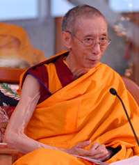 Photo of Geshe Kelsang Gyatso