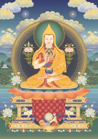 Photo of Lama Losang Tubwang Dorje Chang