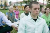 Group Meditating Together