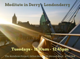 Derry-Londonderry, Northern Ireland - bathing in sunshine on the peace bridge - Belfast Airport car hire